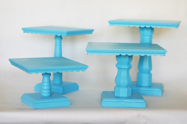 Rectangular Cake Stand Diy