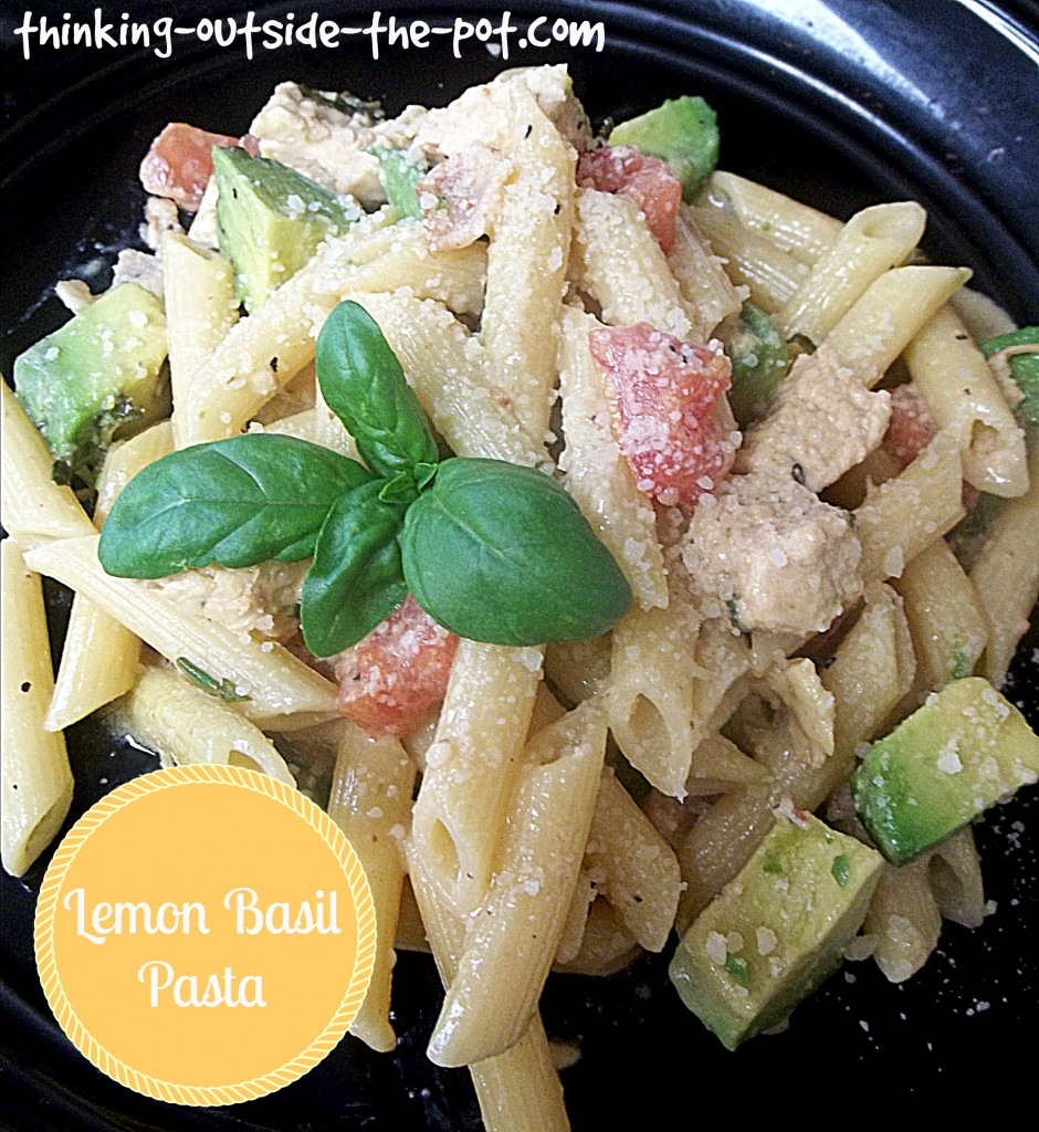 lemon basil pasta