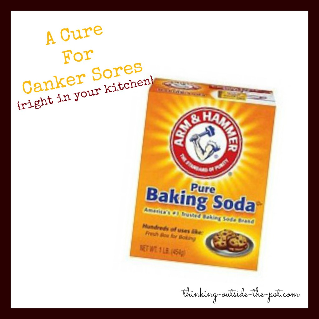Canker sore cure