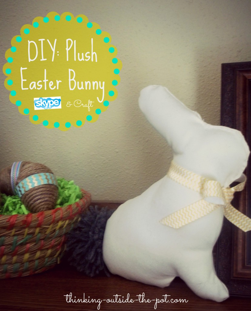 diy Plush Easter Bunny