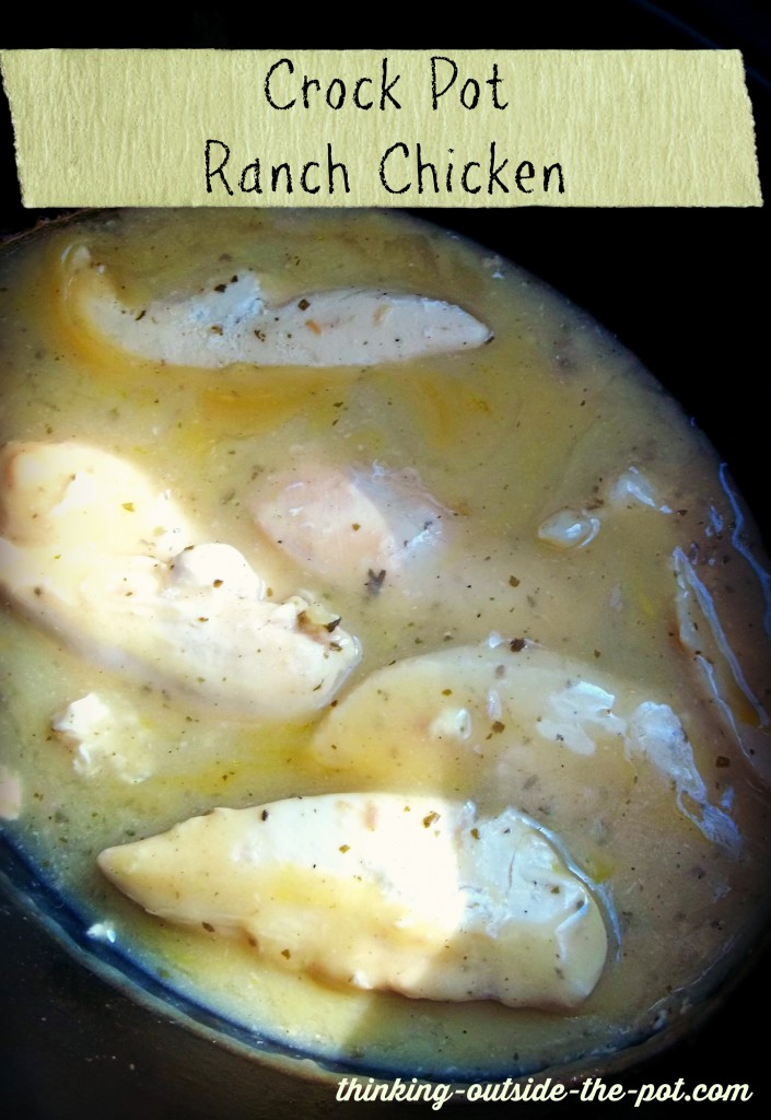 Crock Pot Ranch Chicken