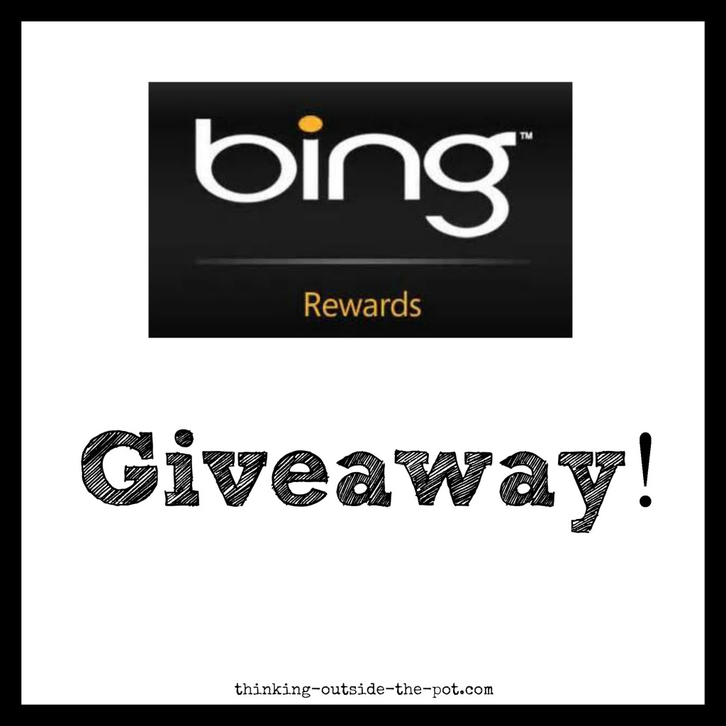 Bing Rewards Giveaway