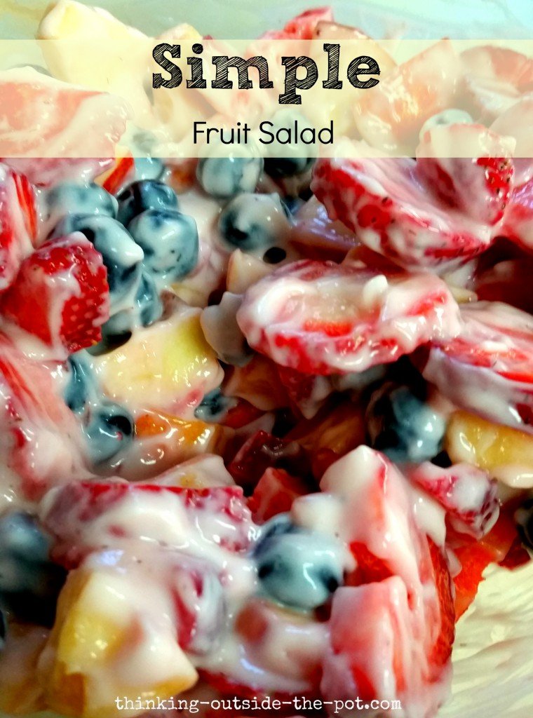Simple Fruit Salad