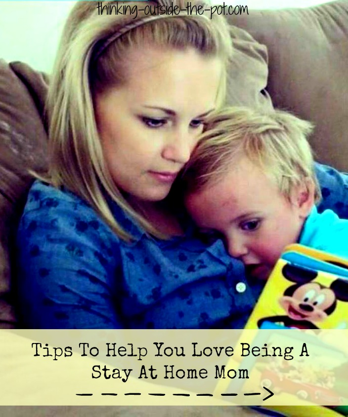 Tips to being a stay at home mom