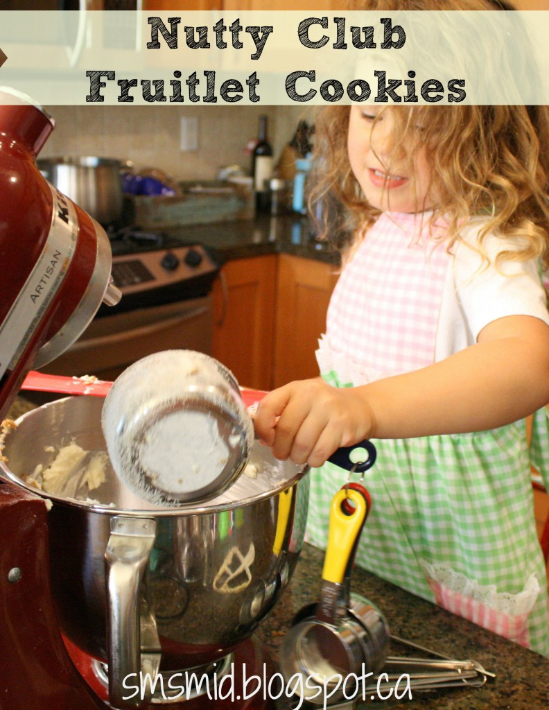 Nutty Club Fruitlet Cookies