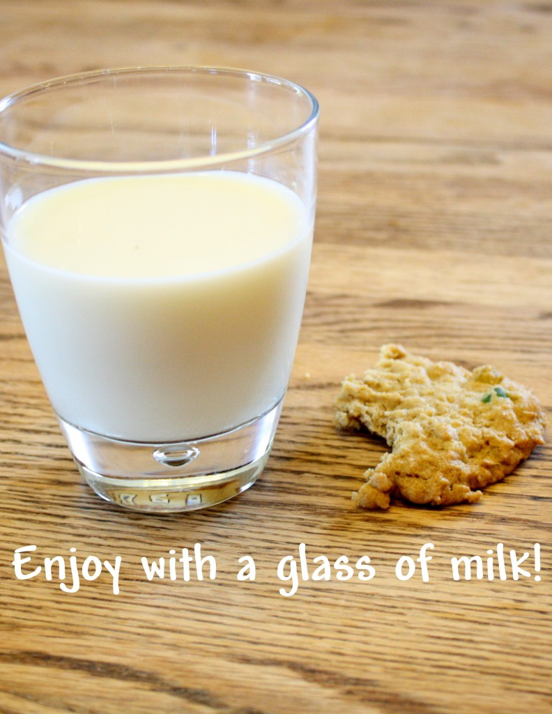 enjoy with milk