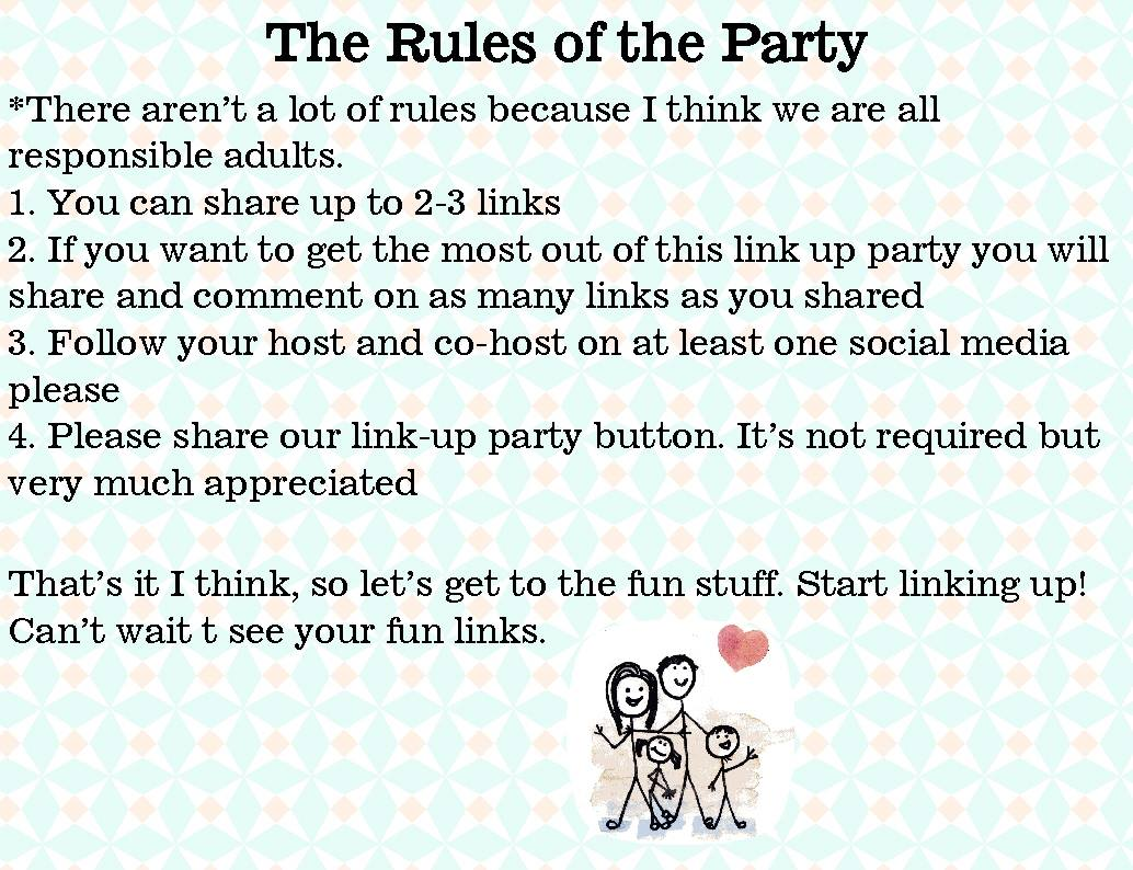 link up party rules