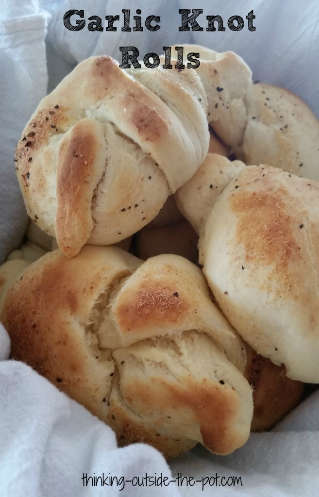 garlic knot rolls