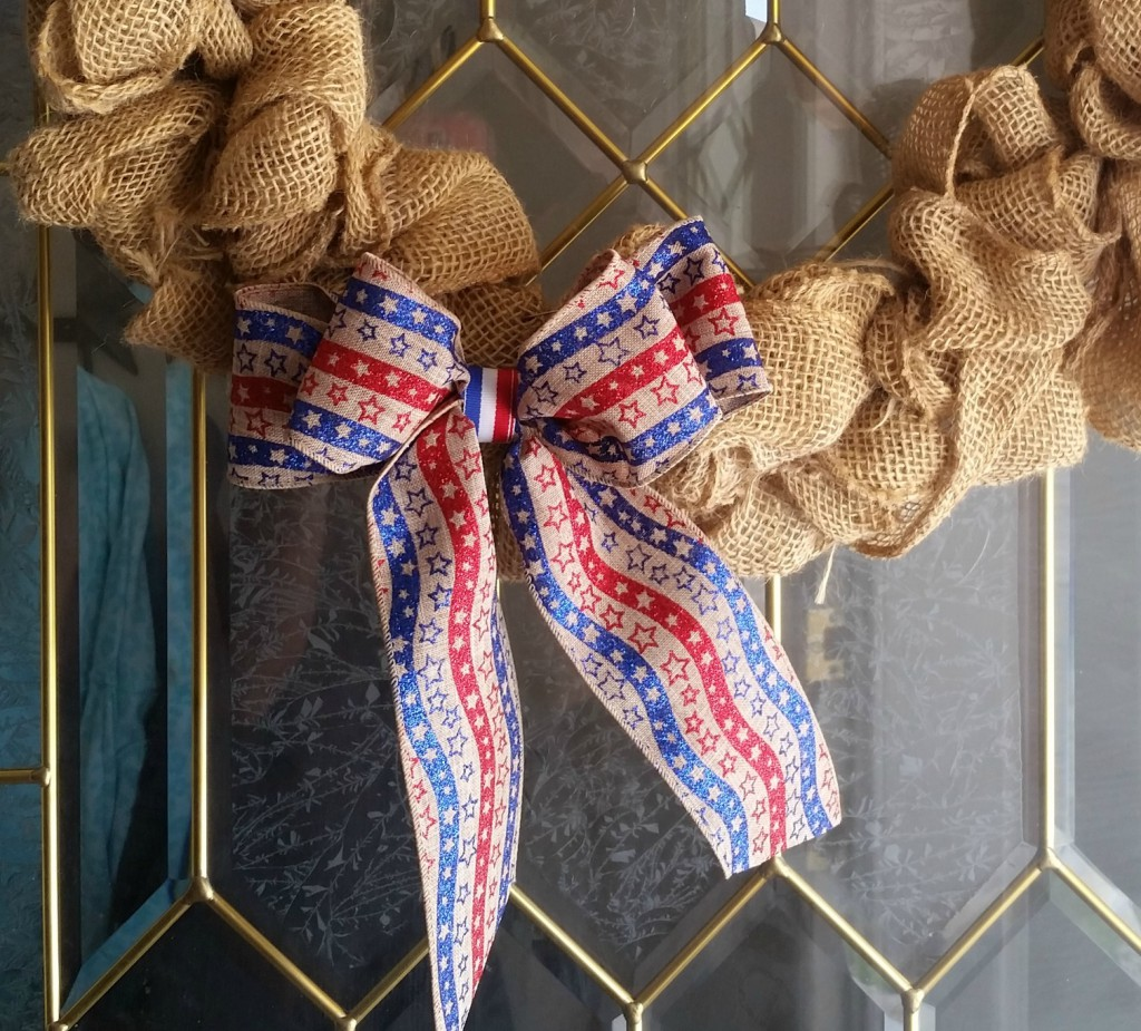 4th of july bow finish