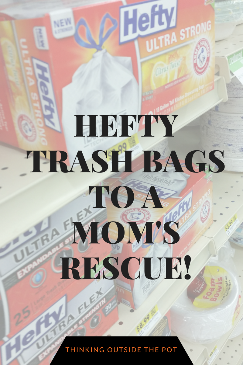 Hefty Trash Bags To A mom's Rescue!(1)