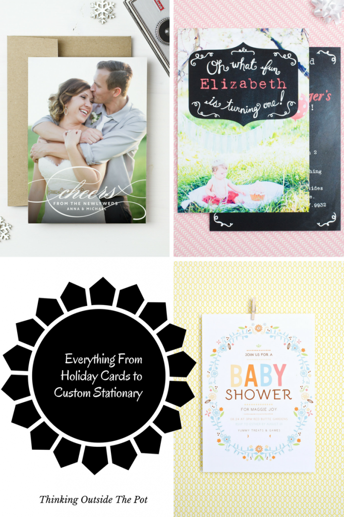 Everything From Holiday cards to Baby announcments