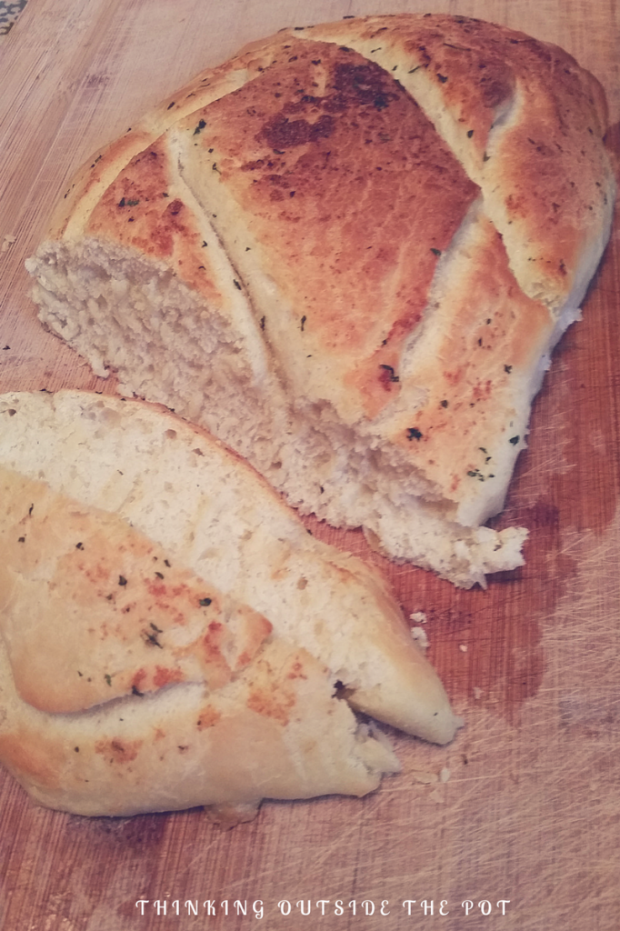 garlic French bread 1