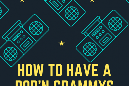 How To Have a Popping Grammy's Party