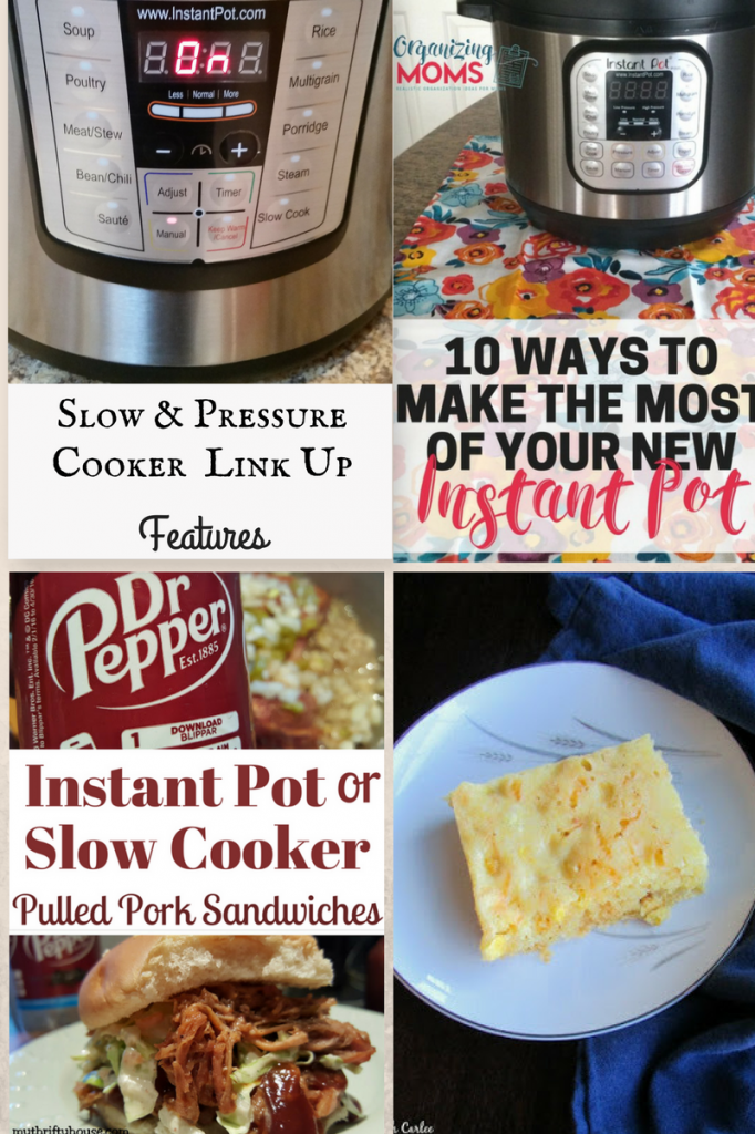Slow & Pressure Cookers link up features