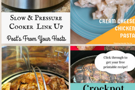 Slow & Pressure Cookers link up posts from your hosts