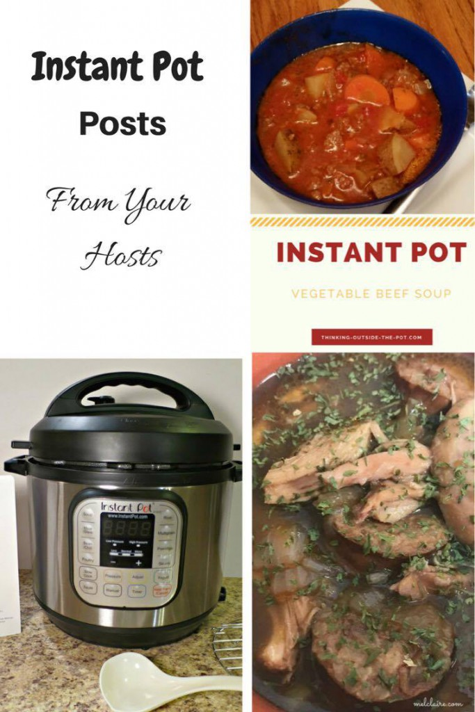 Instant Pot Link Party #1 MelClaire