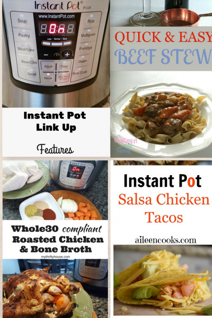 Instant Pot Link Up features