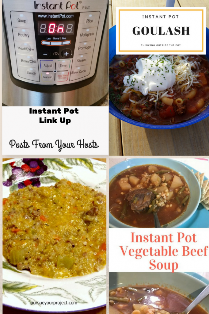 Instant Pot Link Up posts from your hosts #5
